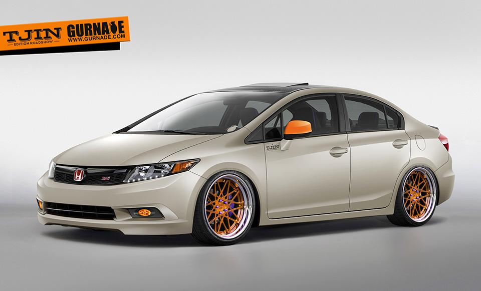 Tjin Edition Honda Civic Si | Gurnade