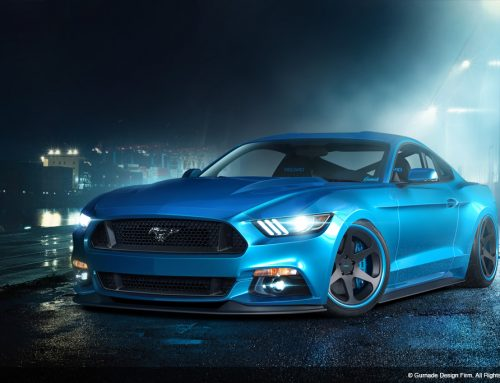 Ford Mustang (Night)