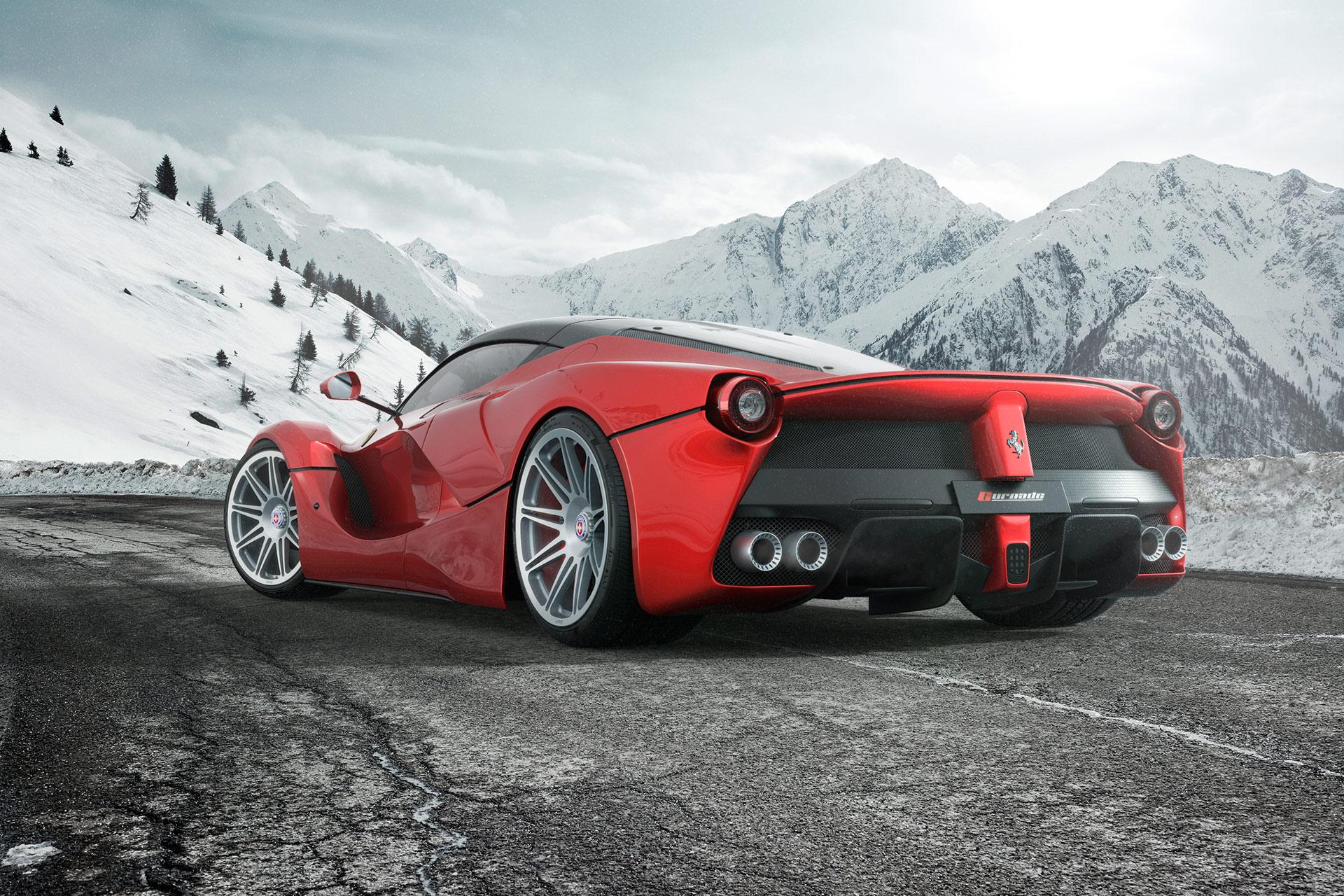 Gurnade Ferrari LaFerrari